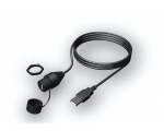 Bulk Head Mounted USB Port - Compatible with 70, 100, 205, 300, 650, 7xx Series ; MS-CBUSBFM1
