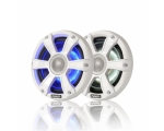 "6.5"" 230 WATT Coaxial Sports White Marine Speaker with LED's"