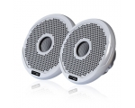 "6"" True Marine Speaker Pair - White and Black Grilles Included, MS-FR6021"
