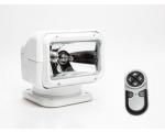 PERMANENT MOUNT RADIORAY W/WIRELESS REMOTE - WHITE