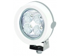 LED prozektor, sari 6136, valge korpus