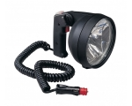 HANDHELD SEARCH LAMP 12V DC BLACK - HALOGEN 100/55W