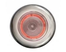 Kohtvalgusti, sari 3980, valgevalgus (punane lisavalgus, ring), roostevaba korpus