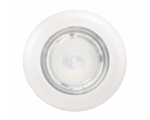 3980 SERIES WHITE LIGHT SPOTLED WHITE AMBIENT RING, WHITE PLASTIC RING