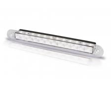 LED COURTESY RECESS STRIP LAMP (WIDE RIM) 12V WHITE