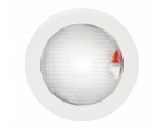 LED DOWNLIGHT EUROLED 150 9-33V RED/WHITE TOUCH WHITE SPACER - White RIM