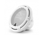 M3-10IB-C-Gw-4 10-inch (250 mm) Marine Subwoofer Driver, Gloss White Classic Grille, 175W RMS