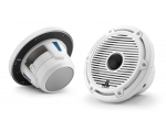 M6-650X-C-GwGw 6.5-inch (165 mm) Marine Coaxial Speakers, Gloss White Classic Grilles 75W RMS
