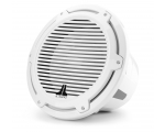 M7-12IB-C-GwGw-4 12-inch (300 mm) Marine Subwoofer Driver, Gloss White Trim Ring, Gloss White Classic Grille, 600W RMS