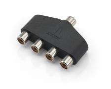 XD-AICS-1F4F Core, 4-Way Audio Interconnect Splitter