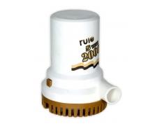 RULE 2000 PUMP 12V GOLD 5YR