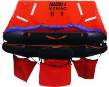 LALIZAS Intern. Liferaft ISO-RAFT 6 prs valise