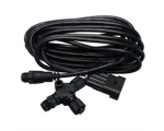 Evinrude engine interface cable 15-ft and T-connector