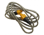 Ethernet cable yellow 5 Pin 1.8 m (6 ft)