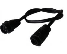 Devēja adapt. kabelis 9-pin (melns) uz 7-pin (zila)