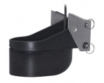 XSONIC TM260 Plastic transom-mount. 50/200Khz with diplexer. Depth/temp. 50Khz @ 19 deg; 200Khz @ 6 deg. - Black 9 pin connector: Cable length 10 m (33.0 ft)