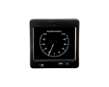 IS70 Rudder indicator RI70-45. Rudder indicator with 45-degree scale. IEC61162-3. Analog input +/-10V. Supply 12-24 VDC.