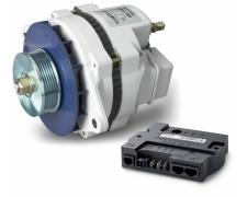 Mastervolt Alpha Alternator 12/130 multi-belt, incl. Alpha Pro III charge regulator