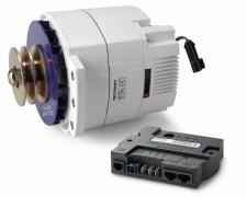 Mastervolt Alpha Alternator 24/150, incl. Alpha Pro III charge regulator