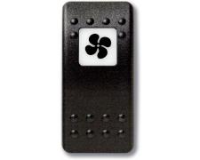 Mastervolt Waterproof switch (Button only) Ventilation fan