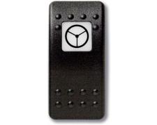 Mastervolt Waterproof switch (Button only) Supplemental steering