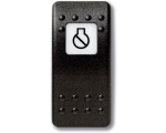 Mastervolt Waterproof switch (Button only) Engine stop