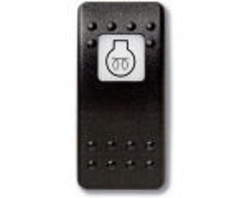 Mastervolt Waterproof switch (Button only) Engine preheat