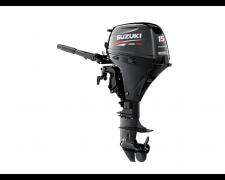 SUZUKI DF15AEL – 4 takti, 15 hj, elektrooniline sissepritse, generaator, elektriline start, pikk jalg, käsijuhtimine