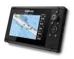 Simrad Cruise 7, ROW Base Chart,83/200 XDCR