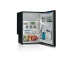 C115iA Single door refrigerator + holding plate - BLACK -, 115L, 12/24Vdc, Internal