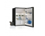 C130LA Single door refrigerator + holding plate - GREY -, 130L, 12/24Vdc, External