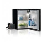 C42L Single door refrigerator - BLACK -, 42L, 12/24Vdc, External