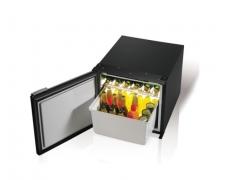 C47, Drawer refrigerator with Airlock system - BLACK -, 47L, 12/24Vdc, External