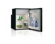 C90i Single door refrigerator - BLACK -, 90L, 12/24Vdc, Internal
