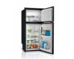 DP2600i Double door refrigerator - freezer - BLACK -, 230L, 12/24Vdc, Internal