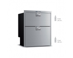 DW 210 DTX IM Double drawer freezer‐refrigerator with icemaker, 182L, 230Vac*, Internal