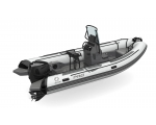 ZODIAC PRO 5.5 Strongan Black/Light grey hull