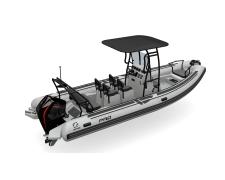 ZODIAC PRO 7 NEO Light Grey/Light Grey hull