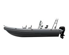 ZODIAC PRO Classic 850 grey, grey hull (PRO 850)