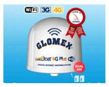Glomex weBBoat 4G Plus - DUAL SIM - 4G/3G/LTE/WiFi
