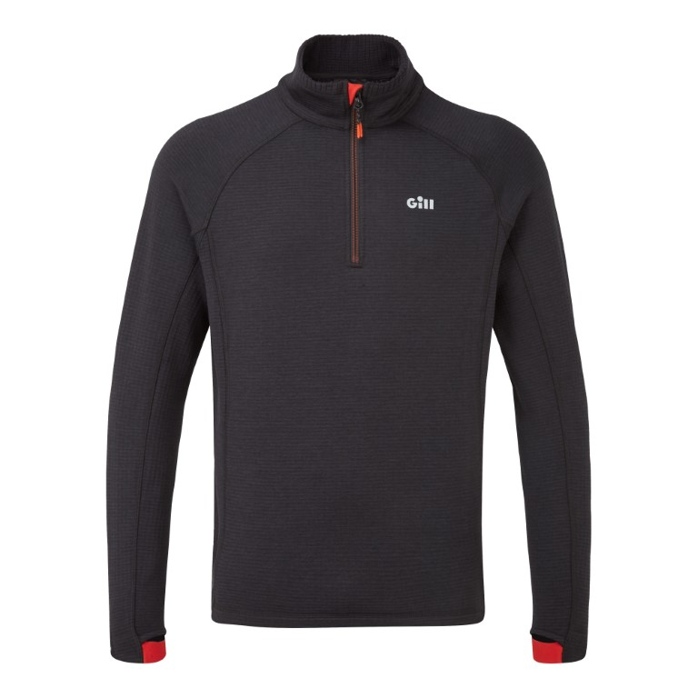 OS Thermal Zip Neck