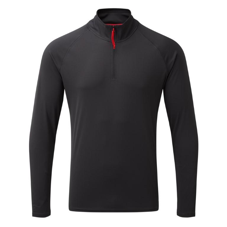Men's UV Tec Long Sleeve Zip Tee
